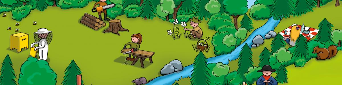 Jorat parc naturel cover