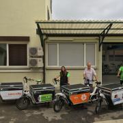 Unsere Cargo Bikes