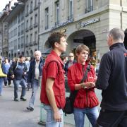 Soziale Beratung auf der Strasse