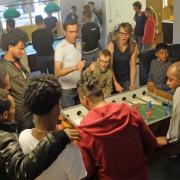 Spiel und Spass im Café International. Immer montags von 16-19 Uhr