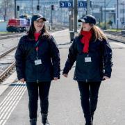 Les parrains de gare assurent une présence et patrouillent dans la gare