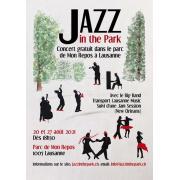 Concert de jazz dans le parc de Mon Repos à Lausanne job image